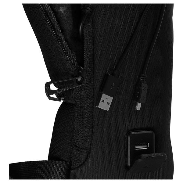 Lavvento BG326 Single Shoulder Sling Laptop Backpack 12.1inch Black