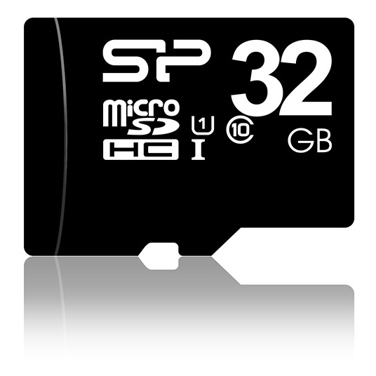 Silicon Power Micro SDHC Card 32GB Class10 With Adapter