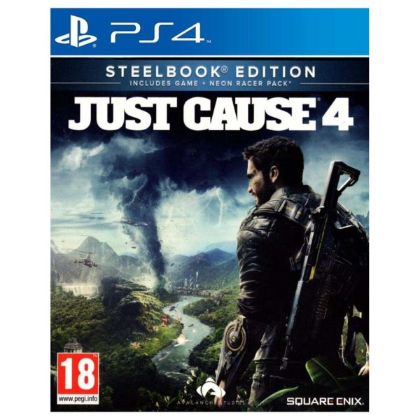 PS4 Just Cause 4 Steelbook Edition Game