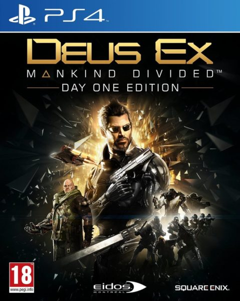 PS4 Deus Ex: Mankind Divided Day One Edition Game
