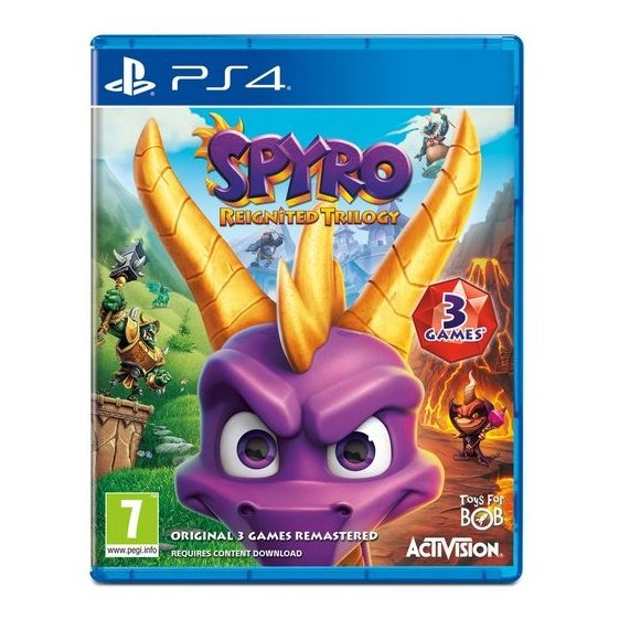 PS4 Spyro Reignited Trilogy Game