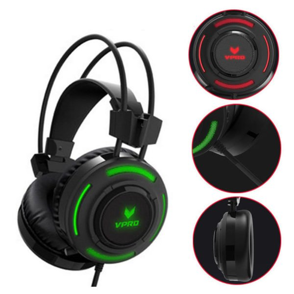 Rapoo VH200 Wired Gaming Headset Black