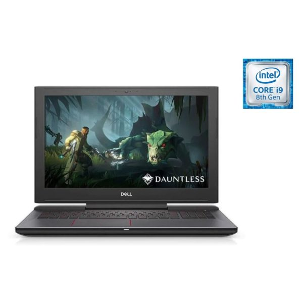 Dell Inspiron 15 5587 Gaming Laptop - Core i9 2.9GHz 16GB 1TB+256GB 6GB DOS 15.6inch FHD Silver