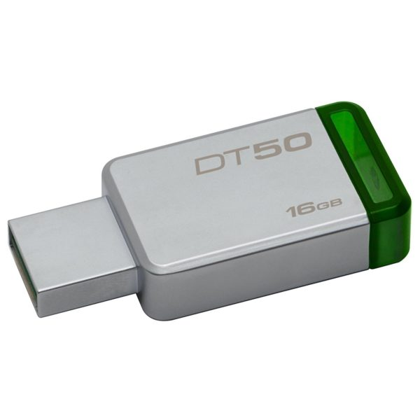 Kingston DT50/16GB DataTraveler 50 USB 3.1 Flash Drive 16GB Metal