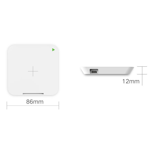 Mipow Power X-Cube Wireless Charger White - BTC300WT