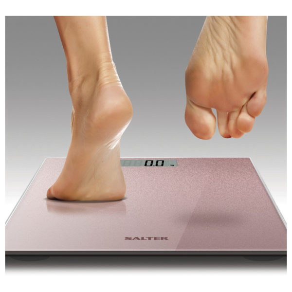Salter 9037 PK3R Digital Personal Scales up to 180KG Pink