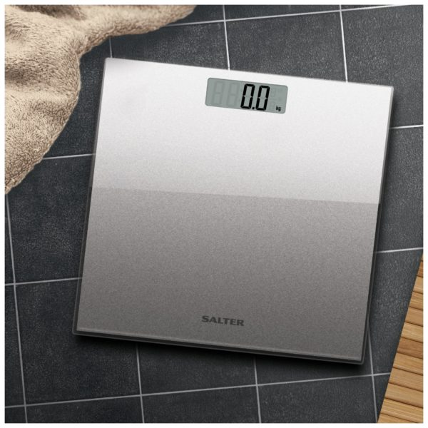 Salter 9037 SV3R Digital Personal Scales up to 180KG Silver