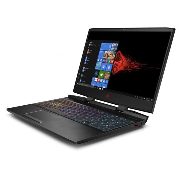 HP OMEN 15-DC0014NE Gaming Laptop - Core i7 2.2GHz 16GB 1TB+256GB 6GB Win10 15.6inch FHD Shadow Black