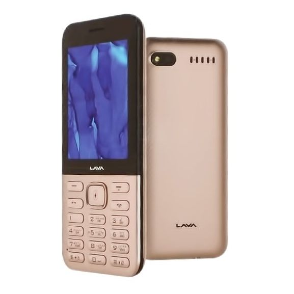 Lava A1 Champion Mobile Phone Gold