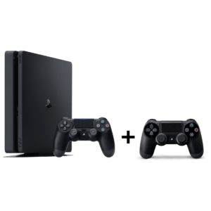 Sony PS4 Slim Gaming Console 1TB Black + Extra Controller + 1 Assorted Game