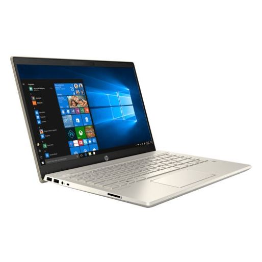 HP Pavilion 14-CE2085NE Laptop - Core i7 1.8GHz 16GB 1TB+128GB 4GB Win10 14inch FHD Gold