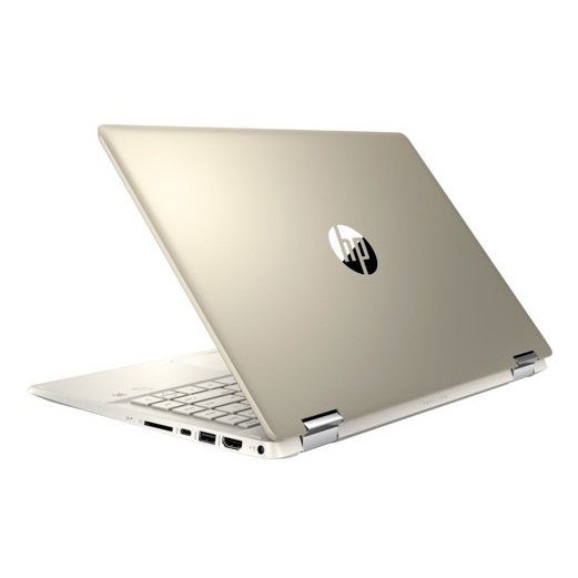 HP Pavilion x360 14-DH0086NE Convertible Touch Laptop - Core i7 1.8GHz 16GB 1TB+256GB 2GB Win10 14inch FHD Gold