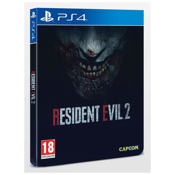 PS4 Resident Evil 2 Steelbook Edition Game