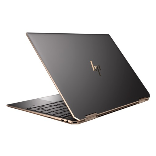 HP Spectre x360 13-AP0009NE Convertible Touch Laptop - Core i7 2GHz 16GB 1TB Shared Win10 13.3inch FHD Dark Ash Silver